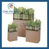 Sacco di carta del regalo di promozione del Kraft (DM-GPBB-028)