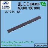 2.54mm weiblicher Verbinder des Vorsatz-1*40pin (y-Terminaltyp, H=5.7mm)