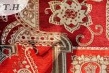Venta caliente 2016 una serie de pequeños jacquard chenilla sofá cubierta de tela