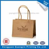 Papel Kraft de alta calidad en relieve Diseño de Brown Bolsa de compras