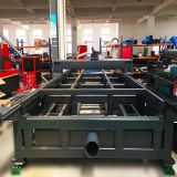 Équipement de gravure de découpage de laser en métal d'industrie de publicité
