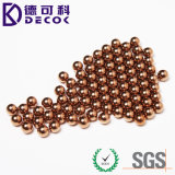 Fábrica directamente sólida 99.9% Pure Copper Ball 1mm en la acción