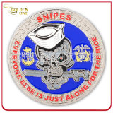 Moneda militar estampada latón del recuerdo del emblema de encargo