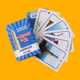 Projetar os cartões de jogo de papel dos cartões de anúncio