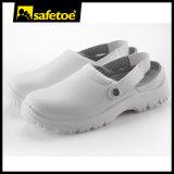Zapatos de seguridad médica con puntera de acero y suela de PU L-7096