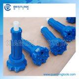Bits com botão de pressão baixa com pressão de ar para DTH Hammer