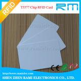 13.56MHz RFID Chipkarte-Leerzeichen-weiße Karte für Zugriffssteuerung