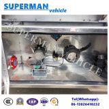 алюминиевого сплава 50m3 мазута топливозаправщика трейлер Semi