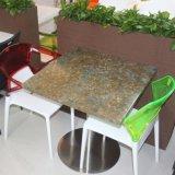 Eettafel van de Oppervlakte van de Hars van het Meubilair van het restaurant de Acryl Stevige