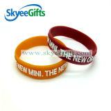 Regalo molle impresso dei Wristbands del silicone di disegno dell'OEM vario