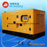 Menos conjunto de generador diesel de potencia del combustible 140kVA Weichai