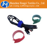 Mehrfachverwendbare Haken-u. Schleifen-Band-Flausch-Mehrfarbenkabelbinder