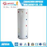 Calefator de água solar rachado pressurizado da placa lisa