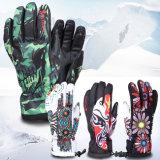 Guantes al aire libre del esquí del deporte fresco impermeable Heated profesional de la nieve