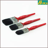 3PCS Coffee Plastic Beavertail Paint Brush Set