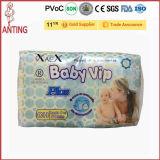 Couche-culotte 2016 de bébé VIP avec le prix usine élastique de Fujian de bande de taille