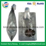 Saco isolado elevado da folha de alumínio para o suco de fruta da embalagem/beber/alimento da bebida/cosméticos/detergente químico do líquido/lavanderia