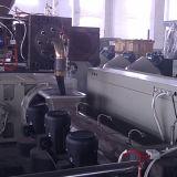 Автоматическое подавая зерно пленки пластичное рециркулируя оборудование PP пластичная лепешка делая машину