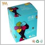 Caja de la toalla sanitaria cajas de regalo para embalaje
