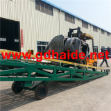 10tonage Capacity Mobile Yard Ramp per Loading e Unloading (HD-MYR10)