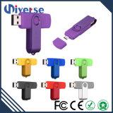 O USB Flahs da forma conduz OTG para o telefone esperto como o telefone móvel Accesseries como o presente da promoção