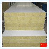 El panel de emparedado incombustible de las lanas minerales de las lanas de roca de China