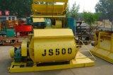 Tipo orizzontale diretto Js500 betoniera di vendita della fabbrica dello scomparto del doppio