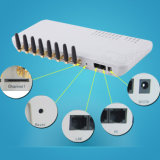 VoIP: GSM Terminal inalámbrico / 8 canales GSM Gateway (GoIP 8)