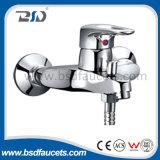 Singolo miscelatore d'ottone dell'acquazzone del bagno di placcatura di bicromato di potassio della leva