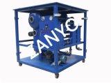 Equipo portable en línea del purificador de aceite del transformador