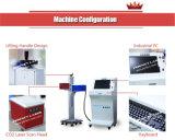 Cable/madera/máquina de la marca del laser del CO2 del conjunto/de la botella de agua del alimento