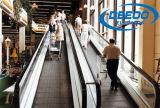 Acera móvil de interior de la alameda de compras de la escalera móvil