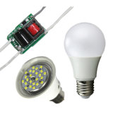 5With7W Constant Current LED Bulb Drivers, Output 32-45V, 135mA