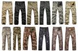 12 calças ao ar livre táticas das cores que caçam cuecas militares de acampamento do exército