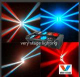 8PCS *10W de LEIDENE van RGBW 4 In1 Volledige Spin die van de Kleur HoofdLicht bewegen