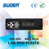 Suoerの高品質車DVD/VCD/CD/MP3/MP4プレーヤー1 DIN車のDVDプレイヤー(8802青い)