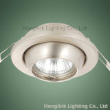 Регулируемое GU10/MR16 Recessed Ceiling Downlight Fixture для Whole Sale
