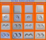 Fornecedor qualificado para a tomada de soquete de Schuko (F7810)