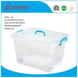 Do espaço livre plástico da caixa de armazenamento da alta qualidade 110L caixa de embalagem resistente do recipiente plástico