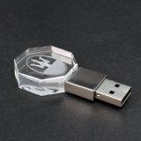 USB Flash Drive do cristal com Your Own 3D Logo (UL-C007)