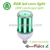Mais-Licht-Landschaft Dimmable 18W IP64 E26 E27 RGB-LED