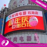 Pantalla de P10 LED para el estadio y la publicidad del balompié