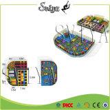 Construtor ginástico interno profissional do parque do Trampoline do húmido do Slam do salto