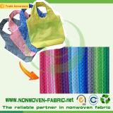 環境に優しいPPを熱販売することはモロッコの結ばれた非編まれたショッピング・バッグを回した