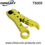 Всеобщий Вырезывани-Обнажая стриппер провода для коаксиального кабеля Rg-59/6 (T5005)