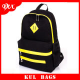 (CL4006) Zaino di modo del sacchetto di banco della tela di canapa per il sacchetto degli allievi