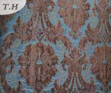 Grande tessuto blu del jacquard del fiore 2016 dalla fabbrica della Cina (FTH31106A)