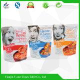 Полиэтиленовый пакет упаковки еды с QS/OEM