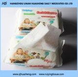 Ткань Nonwoven хлопка лицевая для пользы младенца, пользы Кож-Чистки