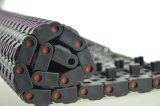 Correia transportadora modular plástica antiderrapagem de Pantented da placa 1005 lisa